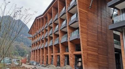 重庆江津区裕城春三里木纹板项目